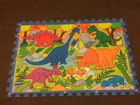 Giant Dinosaur floor puzzle early learning centre