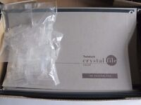 SUSPENSION FILES - 30 NEW GENUINE GREY CRYSTALFILES COMPLETE WITH TABS AND INSERTS