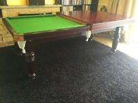 Riley snooker / pool Dining Table