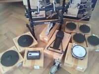 Roland td3 kv full kit with original boxes and stand