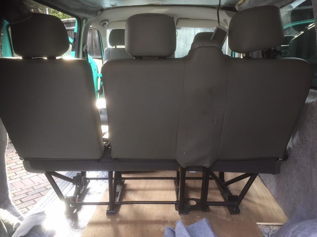 Transporter T5 rear bench three seats