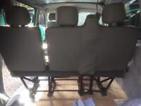 Transporter T5 rear bench three seats