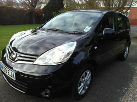 2009 (59) Nissan Note Acenta 1.4 Excellent Condition Low Mileage.