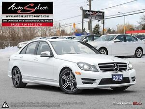 2014 Mercedes-Benz C-Class 4Matic C300 AWD ONLY 73K! **TECHNO...