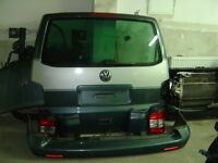 vw t5 transporter caravelle multivan tailgate door camper conversion day van