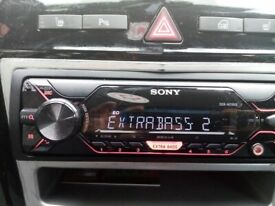 Sony car stereo USB aux 55 x 4 mint.