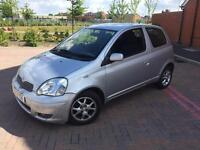 TOYOTA YARIS 1.3 T SPIRIT AUTOMATIC 2003/03 REG NEW MOT DRIVES 2 LADY OWNERS FSH