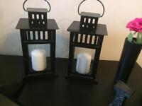 Lantern s with candles