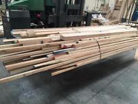 Job Lot - Mixed Hardwood Offcuts - Mostly American Oak/Ash