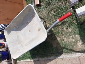 Nearly new wheelbarrow