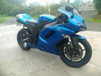 2008 Kawasaki ninja zx6r p8f model swap