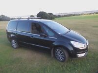 FORD Galaxy Ghia TDCi 2.2 Diesel 1 owner 99,000 miles Metallic Black