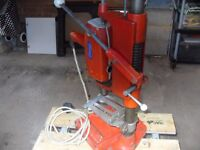 Bench electric post drill