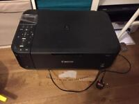 Canon all in one inkjet printer with scanner