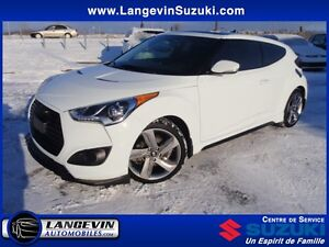 2015 Hyundai Veloster Turbo/CUIR/GPS/TOIT OUVRANT