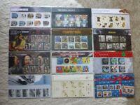 Stamp Presentation Packs 2010 - 2011