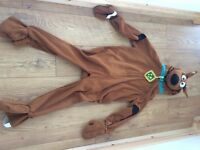 Scooby doo dress up costume 4-7
