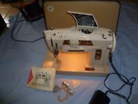 Singer 401 Slant-o-matic Embroidery stitches Sewing Machine