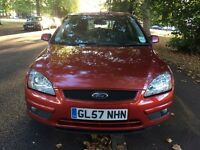 2008 AUTOMATIC FORD FOCUS STYLE 1.6L PETROL 62000 MILES MOT TILL OCTOBER 2017 5 DOOR 2 KEYS