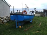 18 ft Plymouth Pilot Registered Fishing Vessel