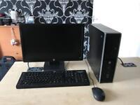 """Hp elite 8200 intel i5 2400 3.1 ghz 8gb ram 500gb hdd 20"""" hp refurbished full system"""