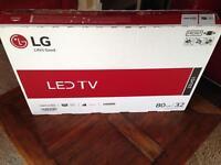 LG 32 inch Led HD TV New. Boxed.