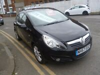 Vauxhall CORSA SXI,3 dr hatchback,1 previous owner,FSH,ideal first car,runs and drives well,only 44k