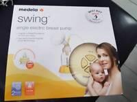 Medela Swing electric breast pump with Calma