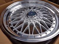 "BBS RS LM CH CIR CSL Styled Alloys for AUDI VW Mercedes BMW Ford 15"" 16"" 17"" 18"" 19"" 20"""
