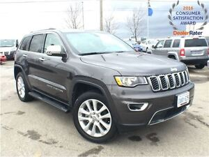 2017 Jeep Grand Cherokee *DEMO* ONLY 5500 KMS ON THE CLOCK* LIMI