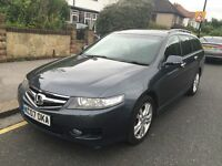 HONDA Accord EX I-CTDi 2.2 Diesel Estate *01-Year MOT* Full Leather Interior FREE 06-Months Warranty