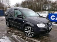 Volkswagen Caddy 2004 54, brand new alloys & tyres, MOT Dec 2018,