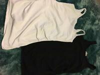 Matalan maternity vest top pair. Size 8.
