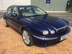 2003 (53) JAGUAR X-TYPE SE AWD 3.0 PETROL, AUTO, SALOON, ONLY 55K, FULL SERVICE HISTORY, MOT FAILURE