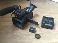 Sony HXR-NX70 u Camcorder.With Extra Large Battery, 92gb memory, Polarizer Filtr