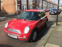 Red 2004 Mini One Hatchback 1.6 - very reliable :)