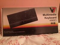 V7 Multimedia Keyboard