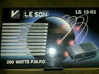 Leson 200w brand new amplifier amp loud speakers car audio