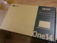 Acer Aspire One Cloudbook 14. Brand new. 1TB Cloud Storage.1 year Manufacturer warranty.