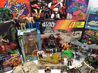 Wanted Old Toys - Star Wars - Transformers - Action Man - TMNT - Marvel small/large collections