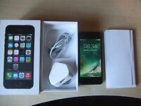 Apple Iphone 5S 32GB Space Gray Grey EE Virgin T-Mobile with Box & Accessories A1457 Essex