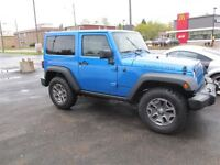 2015 Jeep Wrangler Rubicon Dual Tops 4x4 6spd