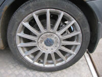 Ford Focus ST170 Alloy Wheels & Tyres