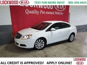 2015 Buick Verano LOW KM'S, NO ACCIDENTS, BLUETOOTH, KEYLESS ENT