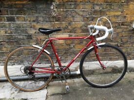 3-speed retro road bicycle - small frame