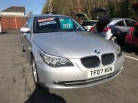 2007 (07) BMW 520D 5 Series Saloon ** Only 72,000 Miles ** Lovely Example **