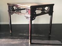 Chinese/Shanxi Eight Immortal Table with Open-carved Braces