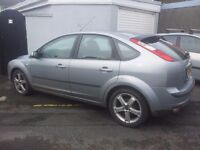 RE.ADVITISED . BREAKING 2006 ford focus 1.6 petrol . ALL PARTS AVAILABLE . 17inch alloys