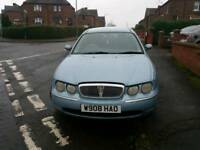 Rover 75 Classic 2000 1.8 Petrol Solid Saloon Car