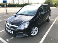 2007 (07) Vauxhall Zafira 1.9 CDTi 16v Design 7 Seater Diesel Automatic 6 Months Warranty Included
